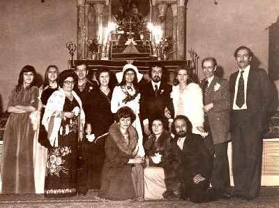 گارنیک درهاکوپیان - ازدواج ، تهران كليساي سركيس مقدس سال ١٣٥٣