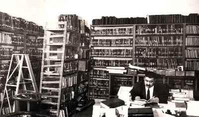 عبدالله انوار- مخزن کتابهای خطی کتابخانه ملی - سال 1345