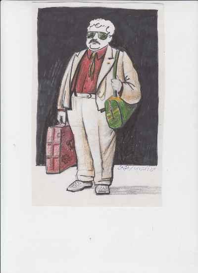 طراحی لباس مرد آفتابی