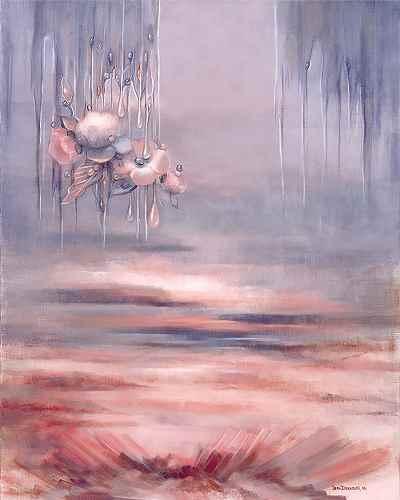 """""""ديوار آسمان -  ابعاد 73×92- سال1998"""