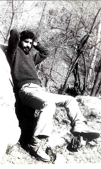 علی فرامرزی در دوران جوانی- سال1353