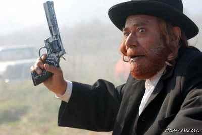 علی نصیریان - فیلم شکارچی شنبه ، کارگردان: پرویز شیخطادی