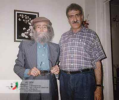 احمد پوری و پرویز شاپور