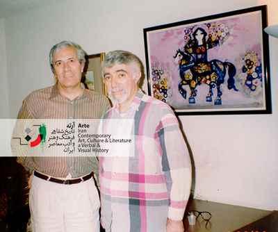 نادر نادر پور و ایرج پارسی نژاد (۱۹۹۳)