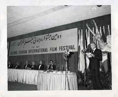 منوچهر انور - دومین جشنواره جهانی فیلم تهران - سال 1352
