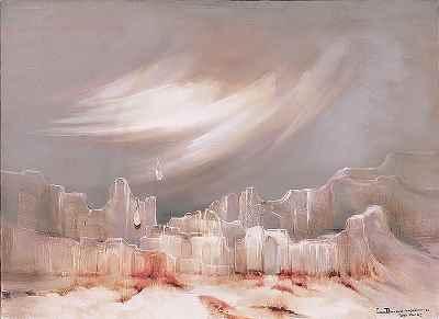 خون يخزار -  ابعاد 73×54- سال 1985