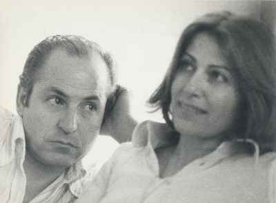 سیراک ملکنیان به همراه همسر هلن - سال 1977