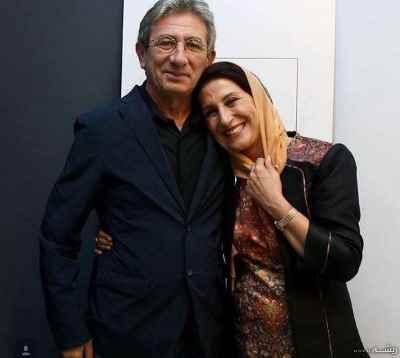 فاطمه معتمد آریا، احمد حامد(همسر) – جشن تولد 50 سالگی