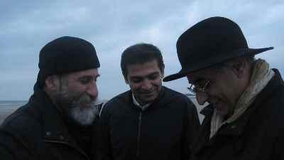 از راست: محمد حسین ماهر، سلطان آبادی، رضا عابدینی - سال  1388