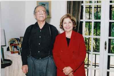 فخری ملکپور به همراه محمدعلی کشاورز