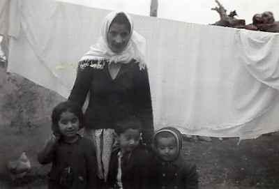 محمد سریر در دوران کودکی (فرزند وسطی)
