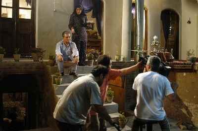 پشت صحنه پایان نمایش - کارگردان: بهمن زرین پور