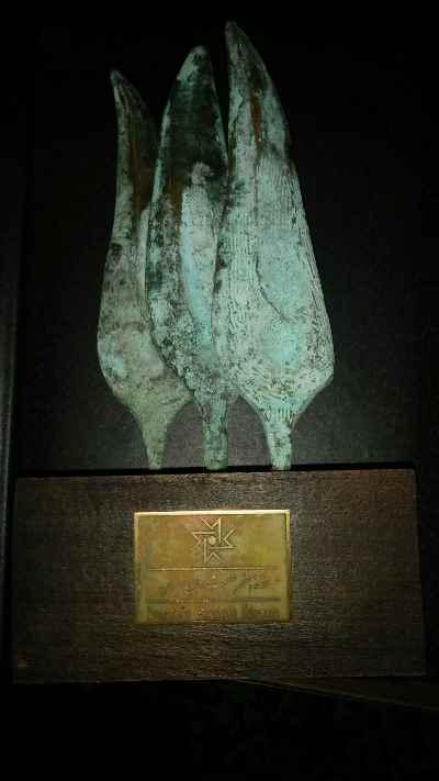 جایزه خانه هنر ولی شیراندامی