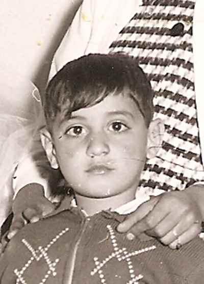 محمد حسین ماهر در دوران کودکی