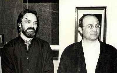 از راست: داریوش طلایی، حسین علیزاده