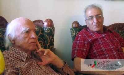 احمد پوری و نجف دریابندری