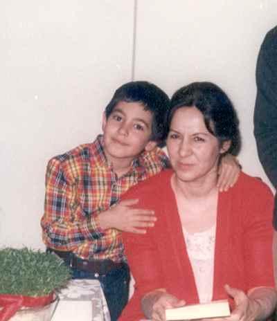 همسر و فرزند فرهاد فخرالدینی