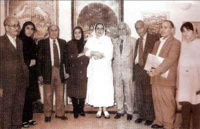 حسین محجوبی (نفر چهارم از راست)