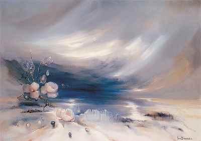 بلور طلوع - ابعاد 92×65- سال1988