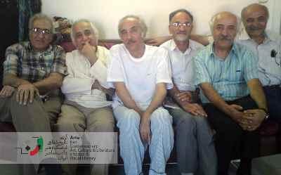عباس مخبر، حافظ موسوی، شهاب مقربین، محمدعلی سپانلو، محمد شمس لنگرودی و احمد پوری