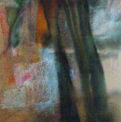 مجموعه نمایشگاه گالری هور ترکیب مواد روی بوم