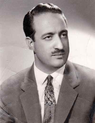 عبدالوهاب شهیدی در دوران جوانی