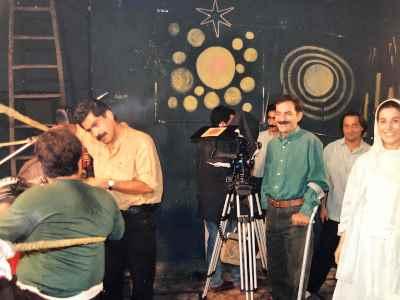 پشت صحنه فیلم مرد آفتابی