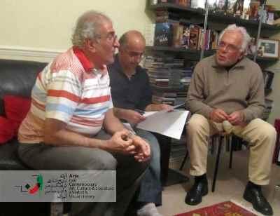 ابراهیم گلستان، پرویز جاهد و احمد پوری