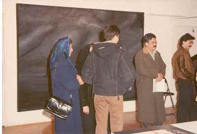 نمایشگاه آثار مصطفی دشتی - گالری حکیم