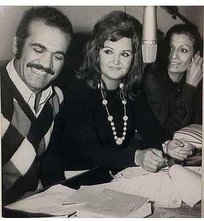 ژاله علو، پوران، فریدون فرخزاد - پشت صحنه یک برنامه رادیویی