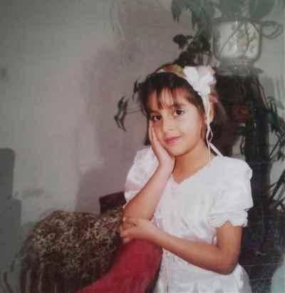 فرح سید ابوالقاسم در 6 سالگی