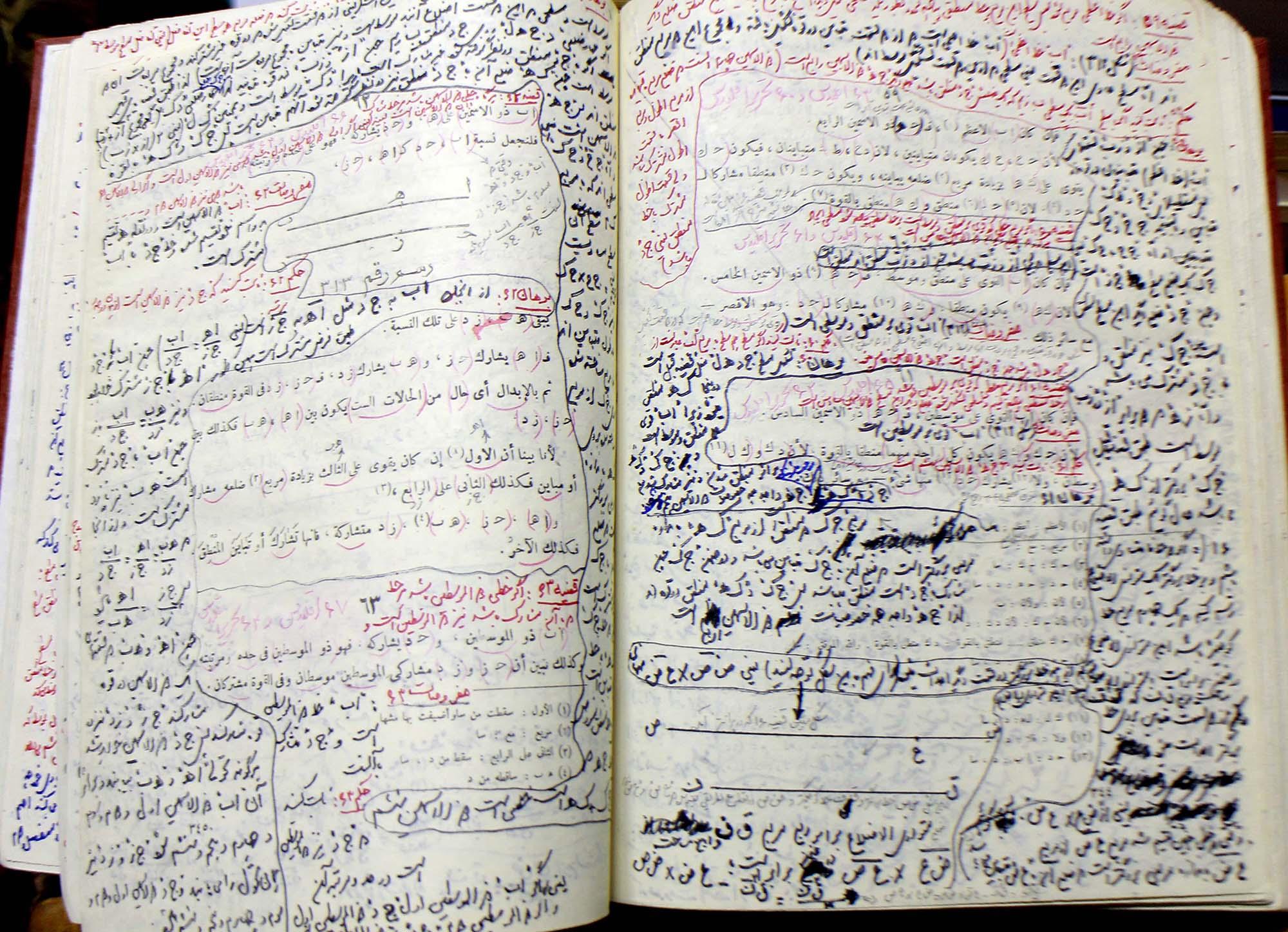 حاشیه نویسی کتاب شفاء بوعلی سینا