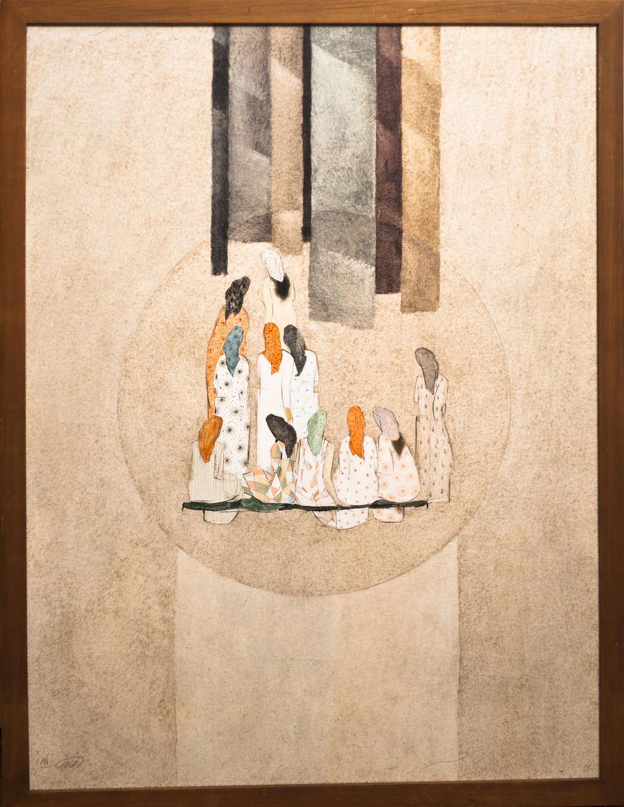 مجموعه آثار رنگ و روغن روی بوم - سال ۹۰ تا ۹۵
