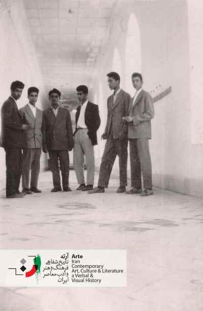 دوران دبیرستان - باغ ملی نیشابور