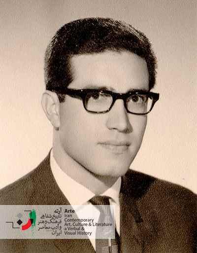 ایرج پارسی نژاد در سن بیست و هشت سالگی