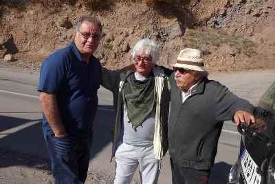 از راست: علیرضا داوود نژاد، کامبوزیا پرتوی، رسول صدر عاملی