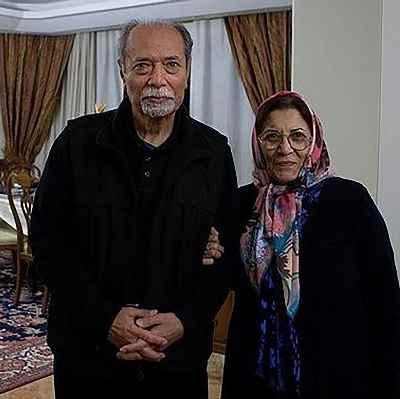 علی نصیریان و همسرشان