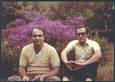 از راست: محمد سریر، محمد نوری