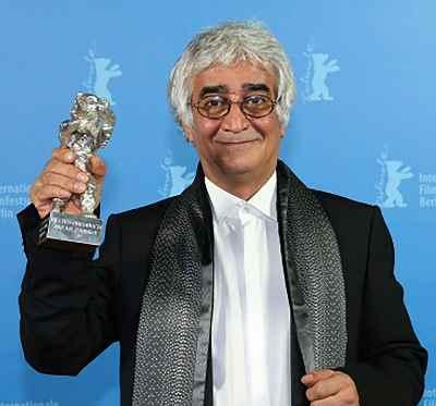 کامبوزیا پرتوی، جایزه خرس نقره ای جشنواره فیلم برلین برای فیلم پرده - سال 2013