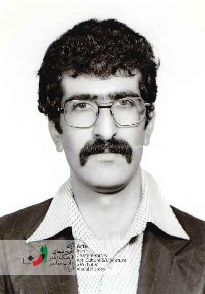 احمد پوری در ۲۳ سالگی