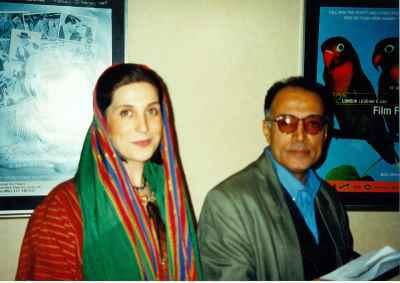 عباس کیارستمی ، فاطمه معتمد آریا - فستیوال فیلم های ایرانی، لندن