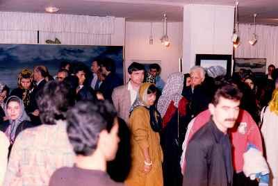 نمایشگاه آثار مصطفی دشتی - گالری منصوره حسینی
