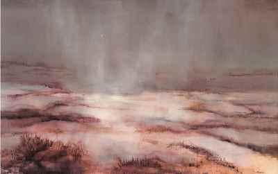 غروب بنفش - ابعاد 90×140- سال1978