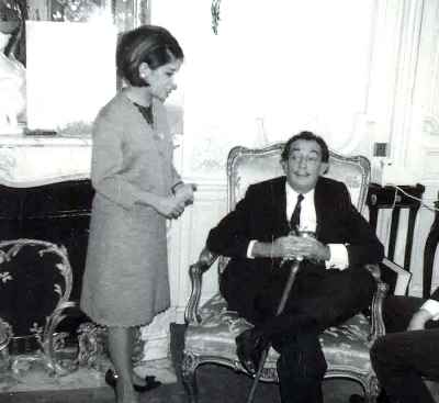 سالوادور دالی و ایران درودی