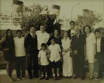 جشن پنجاهمین سالگرد ازدواج فخری ملک پور و دکتر رضا مدرس