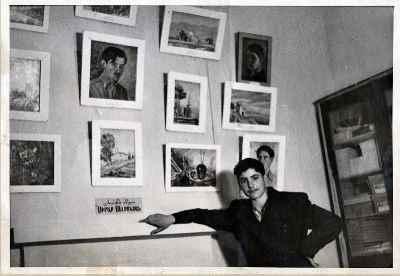 سیراک ملکنیان -  سال 1947 تهران اولین نمایشگاه