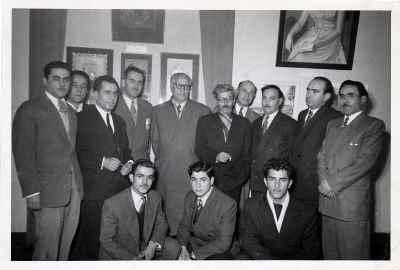 سیراک ملکنیان- نمایشگاه گروهی سالانه معاصر -  سال1950
