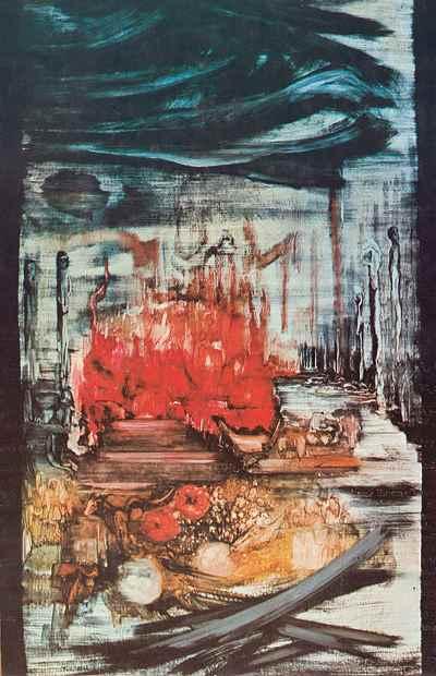 رکود خاطره - ابعاد 135×195- سال1969