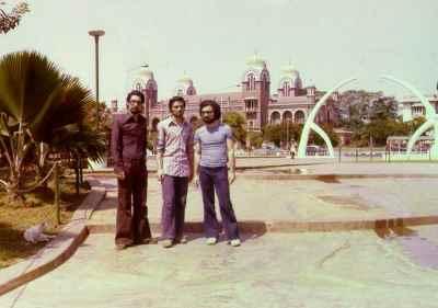 راست : داریوش طلایی، حسین علیزاده، مظهری