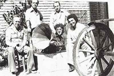 نشسته از راست: مسعود عربشاهي، غلامحسین نامي و مارکو گريگوريان، ايستاده از راست: سيراک ملکنیان  و مرتضي مميز